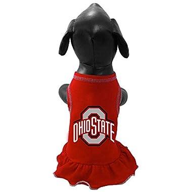 NCAA Ohio State Buckeyes Cheerleader Dog Dress