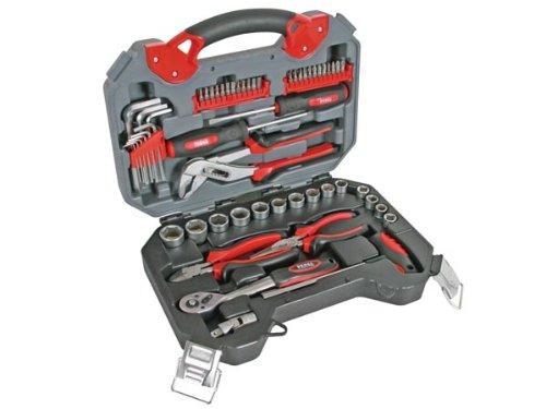 Mala com ferramentas PEREL HSETPRO2 56 UNIDADES