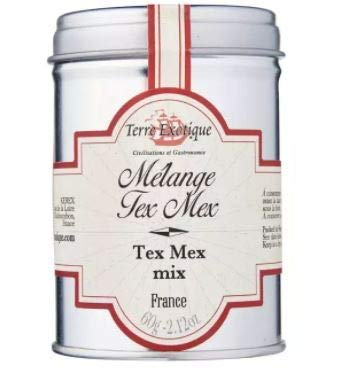 Terre Exotique Tex Mex Mix 60g -Añadir esta mezcla a tu carne picada para un delicioso chili con caramelo con tortillas, fajitas y burritos
