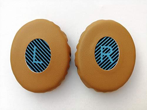 Almohadillas de Piel de Repuesto para Auriculares Bose SoundLink On Ear 2 (Almohadillas + Diadema)