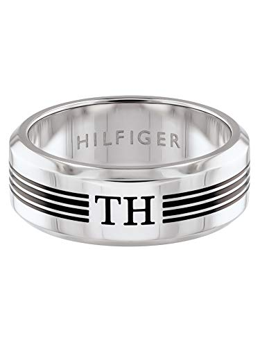 Tommy Hilfiger Herren-Ringe Edelstahl mit '- Ringgröße 60 2790172F