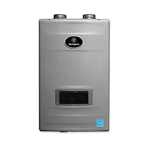 Westinghouse WGRGHNG150 8.2 GPM High Efficiency Natural Gas Tankless Water Heater with Built-in Recirculation and Pump