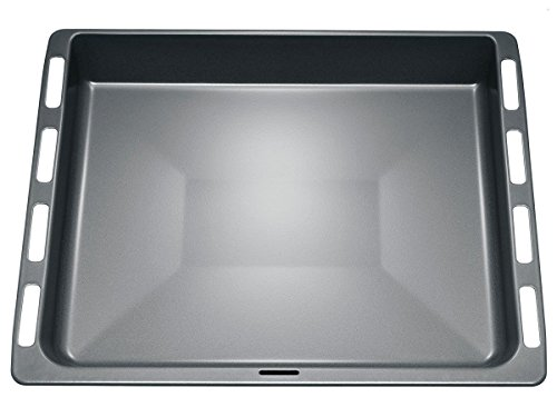 Bosch HEZ332073 Backofen- und Herdzubehör/Extra tiefes, emailliertes Blech für saftige Kuchen, Braten und Tiefkühlgebäck