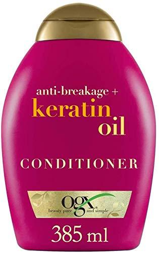 OGX, Acondicionador Aceite de Keratina, Cabellos Quebradizos, 385 ml