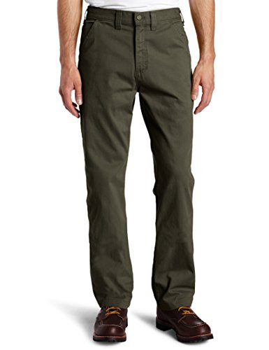 Carhartt Men's Relaxed Fit Washed Twill Dungaree Pant, Dark Coffee, 38W X 32L