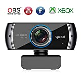 Full HD 1080P/30fps Webcam with Built-in Dual Analog...