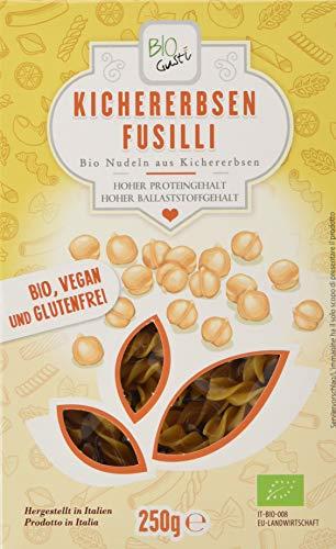 Bio Gusti Fusilli Kichererbsen, 3er Pack (3 x 250 g)