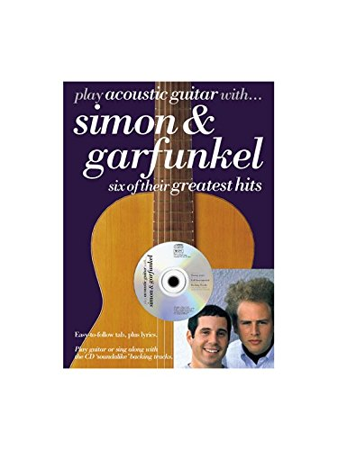 Play Acoustic Guitar With. Simon And Garfunkel. Partitions, CD pour Tablature Guitare(Symboles d\'Accords)