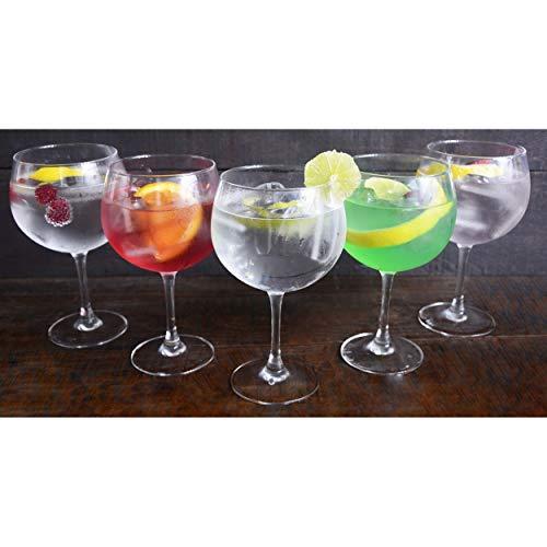 Hogar y Mas - LUMINARC - Copa Combinados 720 ML, Vidrio Gin Tonic, 6 U