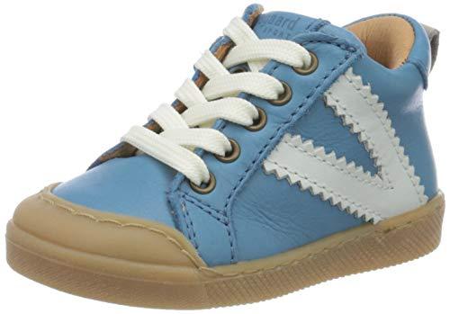 Bisgaard Unisex Baby Sylvester Sneaker, Blau (Jeans 1702), 22 EU
