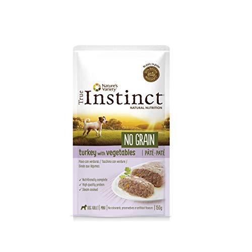 True Instinct No Grain - Nature's Variety - Mini Paté sin Cereales de Pavo para Perros 150 gr - Pack de 8