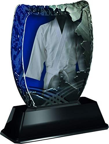 Trophy Monster Iceberg Martial Arts - Plato Grabado para Discotecas y Ligas (acrílico, 3 tamaños)