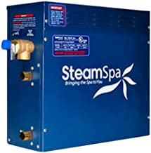 Steam Spa RY450GDC Royal Complete Package with 4.5kW Steam Generator, Gold
