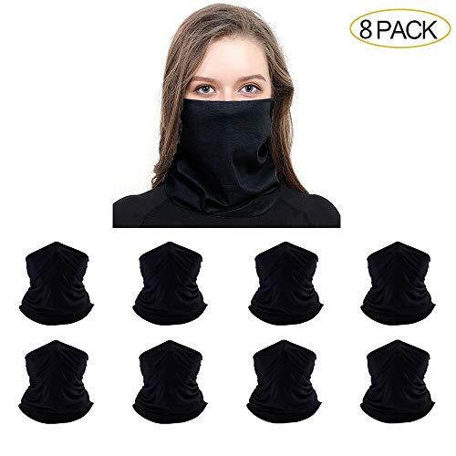 Robibabi Bandana Neck Gaiter Headwear Headband Seamless Headwrap...
