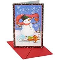 American Greetings Christmas Boxed Cards and Red Envelopes, 14-Count