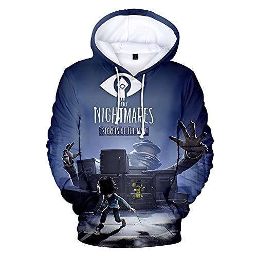 Little Nightmares Hoodie Unisex 3D Sweatshirt lange mouwen heren trainingspak Harajuku Streetwear mode kleding 5XL
