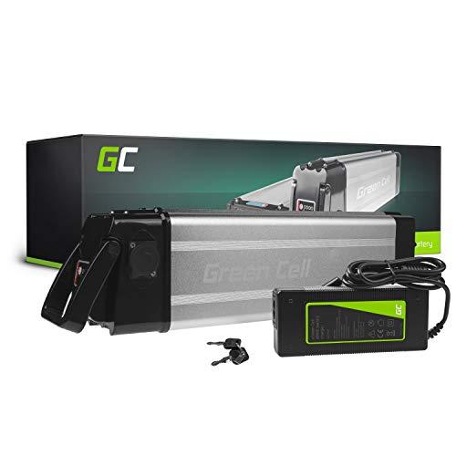 Green Cell GC Bateria Bicicleta Electrica 36V 15Ah Silverfish Li-Ion E-Bike Batería y Cargador