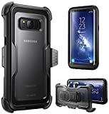 i-Blason Armorbox Series Case for Galaxy S8+ Plus, Full body Heavy Duty Shock Reduction / Bumper Case WITHOUT Screen Protector for Samsung Galaxy S8 Plus 2017 Release (Black)