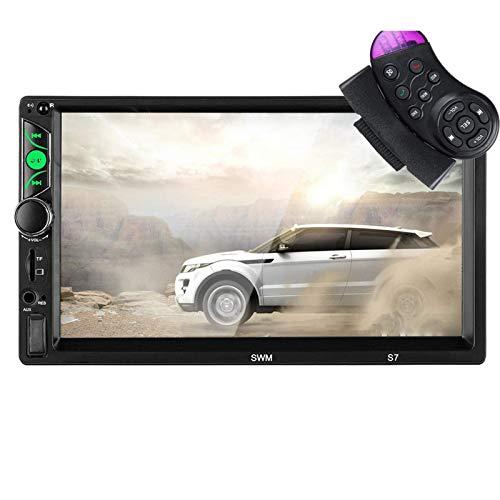 AutoradioAutoradio da 7 Pollici 2Din Autoradio Auto MP5 Bluetooth Touch Screen Vivavoce USB FM AUX TF Supporto Interconnessione MobileSistemi Multimediali per Auto
