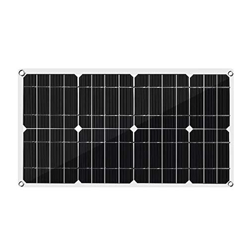 Beck Orlando Solar-Panel-Solarzellen Poly Solar Panel Dual USB Output 50W for Auto Yacht 18/12 / 5V Batterie-Ladegerät for Boote Powered