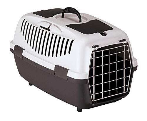Kerbl Katzen Transportbox Gulliver 3 Metalltür Streichelklappe Teilefach