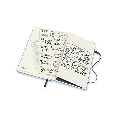 モレスキン手帳ピーナッツ2021年7月始まり18カ月ウィークリーダイアリーハードカバーポケットサイズブルーDPE18WN2Y22