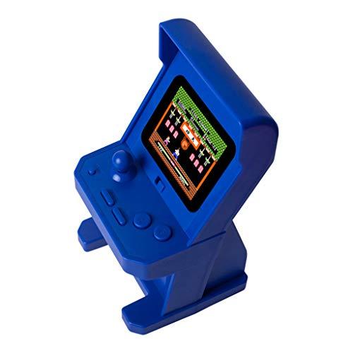 Leiouser Retro-Spielkonsole, 5,1 cm, buntes Display, Mini-Arcade-Spielkonsole, Videospielmaschine, Joystick mit integrierten 268 Spielen, für Kinder, Spielzeug, Geschenke