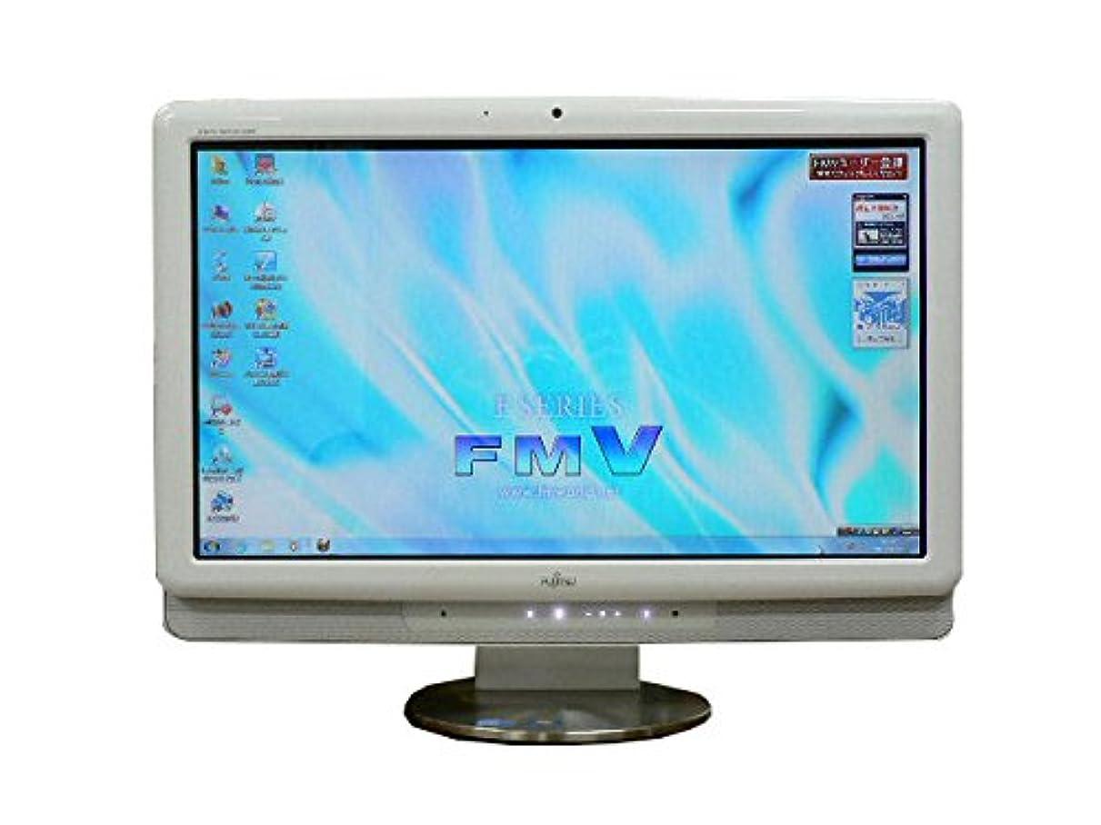 ペンパイプラインラッチ液晶一体型 Windows7 デスクトップパソコン 中古パソコン 富士通 Core i3 DVD 4GB/500GB