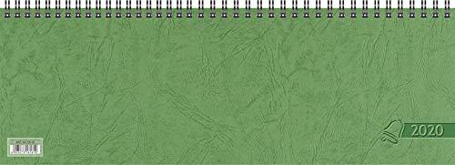 Glocken Querkalender Querterminbuch, 1 Woche/ 2 Seite, 326 x 112 mm, Karton, grün (1)