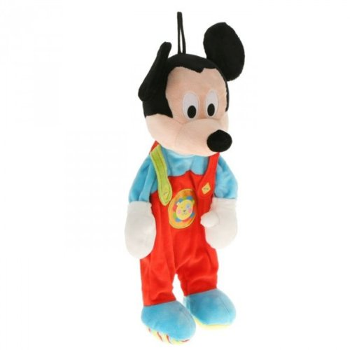Simba Toys - Porte Pyjama, modèle MICKEY and Minnie, 43 cm, Multicolore, 3.sm9763 - Version Italienne