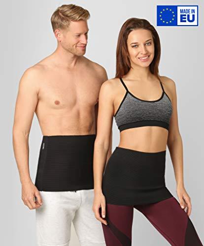®BeFit24 Rückenwärmer für Herren und Damen - Nierenwärmer - Sport Nierengurt - Wärmegürtel - [ Size 7 ]
