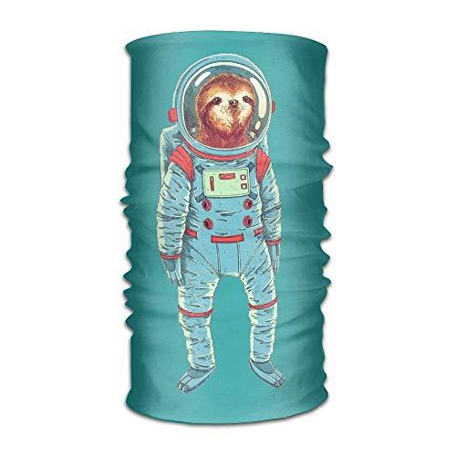 Hoed familie Space Sloth.PNG Hoofddeksels Bandanas Naadloze Hoofddoek Outdoor Sport Headdress Hardlopen Skiën Wandelen Hoofdbanden