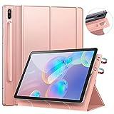 Ztotops Coque pour Samsung Galaxy Tab S6 2019,Dos magnétique Ultra Fin,Support de Couverture Pliable, Étui Housse avec Auto...