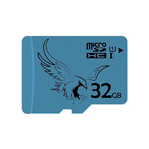 BRAVEEAGLE 32GB Klasse 10 Micro SD Karte U1 microSDHC Speicherkarte für Dash Cam Tablet Ipad(32GB U1)