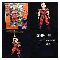 アクションフィギュア ドラゴンベジオFrieza Torankusu Majin BuuスーパーアニメアクションフィギュアPVCコレクション誕生日プレゼント11-17cm 人形モデル (Color : Kuririn SHF, Size : M)