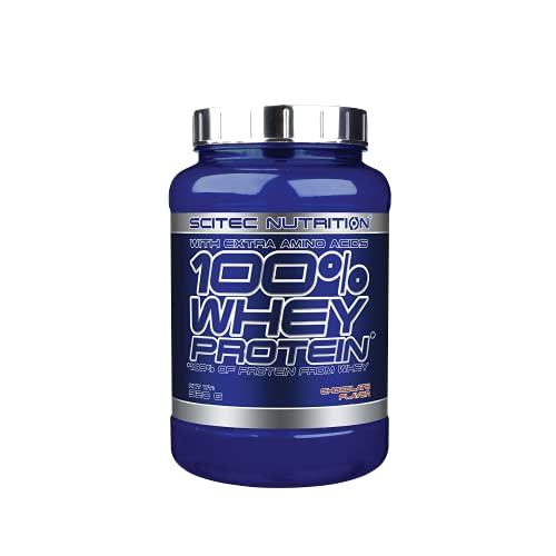 Scitec Nutrition 100% Whey Protein con aminoacidi extra, 920 g, Cioccolato