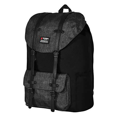 "Olympia Cambridge 18"" Backpack, Black, One Size"