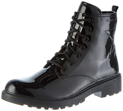 Geox Mädchen J Casey Girl G Ankle Boot, Black, 39 EU