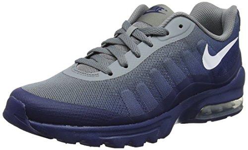 Nike Herren Air Max Invigor Print Fitnessschuhe, Mehrfarbig (Cool Grey/White/Blue Void 008), 44 EU