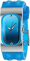 Guess I50353L5 Silicone Band Gradient-Color Dial Analog Watch for Women