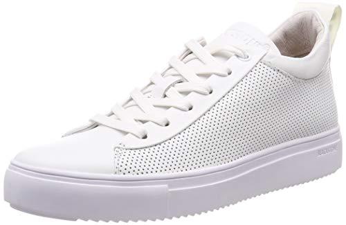 Blackstone Damen RL71 Hohe Sneaker, Weiß (White Whit), 40 EU