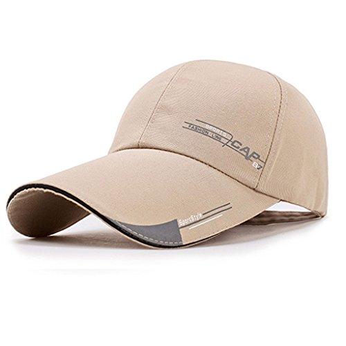 VIccoo Baseball Cap, Mode Sportpet Heren Hoed Voor Vis Outdoor Mode Zonnehoed - Rood
