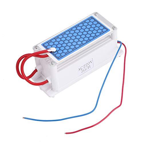 220V 5g/h Purificador de agua y aire, generador de ozono de cerámica Placa integrada Ozonizador Purificador de aire de agua Máquina de esterilización por desinfección de ozono