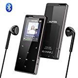 Lettore MP3 Bluetooth 16GB, AGPTEK X15ST MP3 Player Pulsante di Tocco con Radio FM/Registratore...