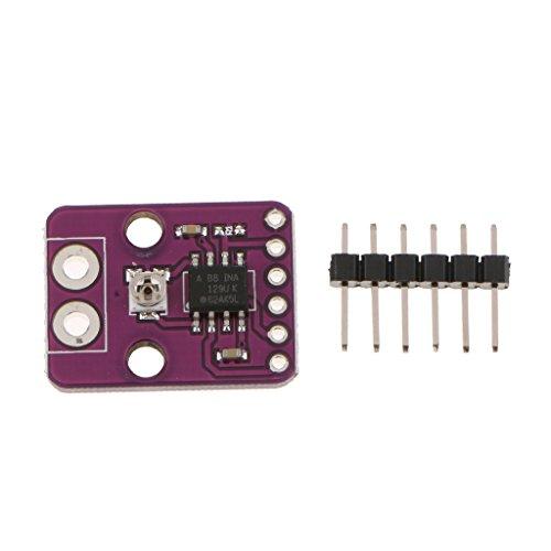 Perfeclan Módulo INA129-HT Una Fila de Pins T Son amplificadores de instrumentación de propósito General de Baja Potencia