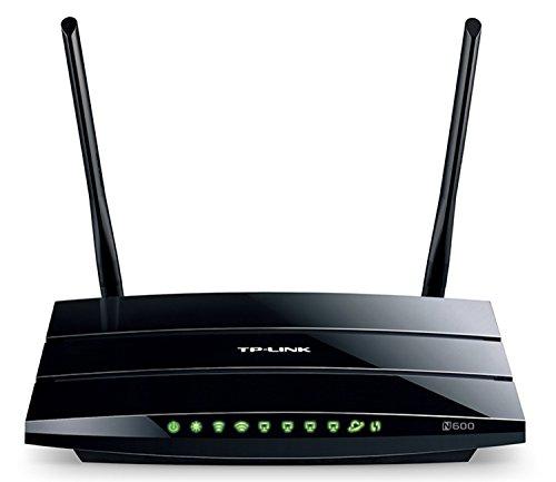 TP-Link TL-WDR3600 N600 Kabel-Router, kabellos, Dual-Band-Gigabit-Kabel-Router, 2,4 GHz, 300 Mbit/s, 5 GHz, 300 Mbit/s, 2 USB-Anschlüsse für Speicher-Sharing, Druckerfreigabe, FTP-Server, Media Server