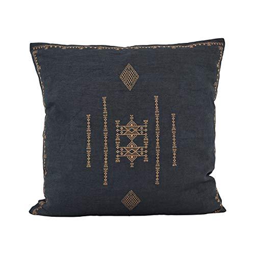 House Doctor Cushion Cover, Inka, Dark Grey