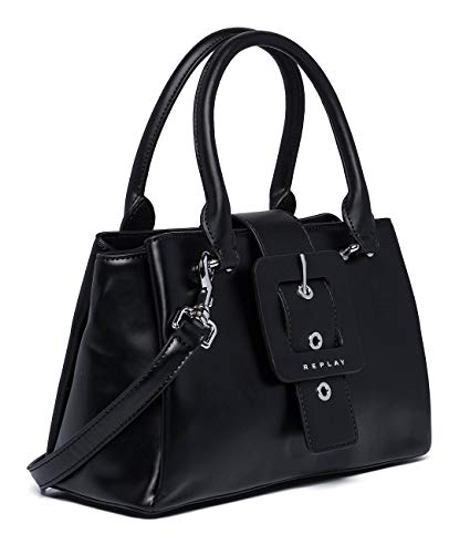 REPLAY ReplayFw3945.000.a0284DonnaBorsa a manoNero (Black) 11,5x18x28,5 centimeters (B x H x T)