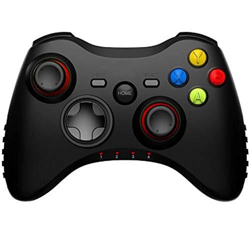 Maliyaw Controlador De Juego Inalámbrico Bluetooth, Mando Inalámbrico PS3 Gamepad Wireless Compatible con Teléfonos Android, Televisores Inteligentes, Tabletas, iPhone, iPad Etc