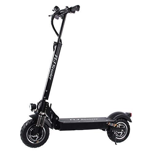 CYOYO Scooter Eléctrico para Adultos De 2400 W con Asiento Plegable Hoverboard Fat Tyre Electric Kick Scooter E Scooter
